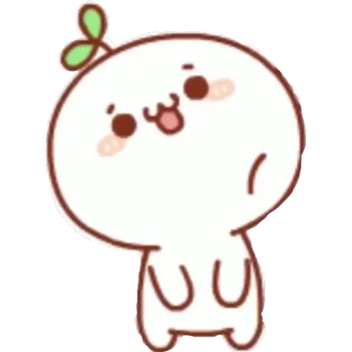 bean sprout - Tray Sticker