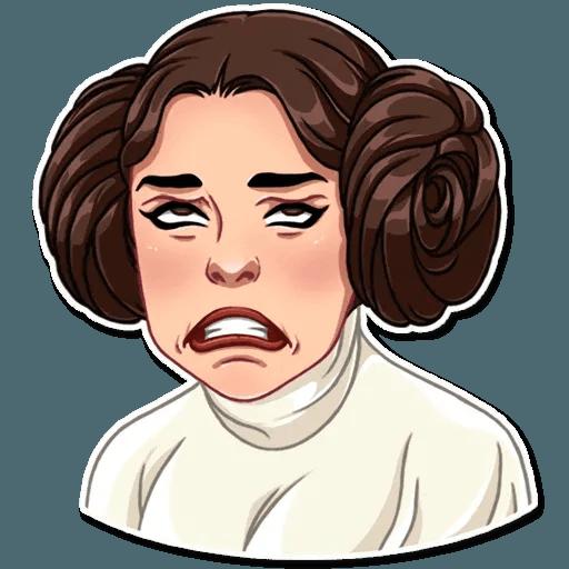Leia - Sticker 6