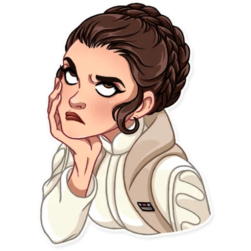 Leia - Sticker 5