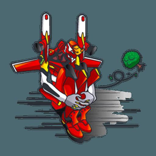 Evangelion Vol4 - Sticker 17