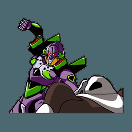 Evangelion Vol4 - Sticker 12