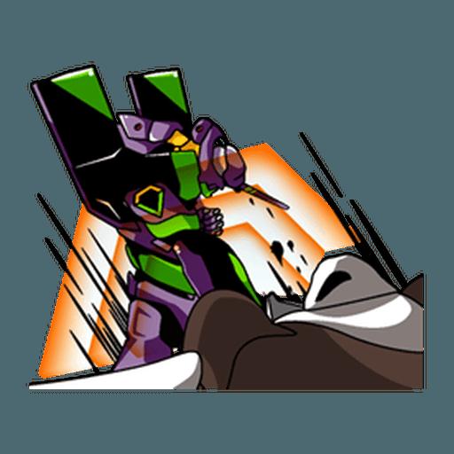 Evangelion Vol4 - Sticker 13