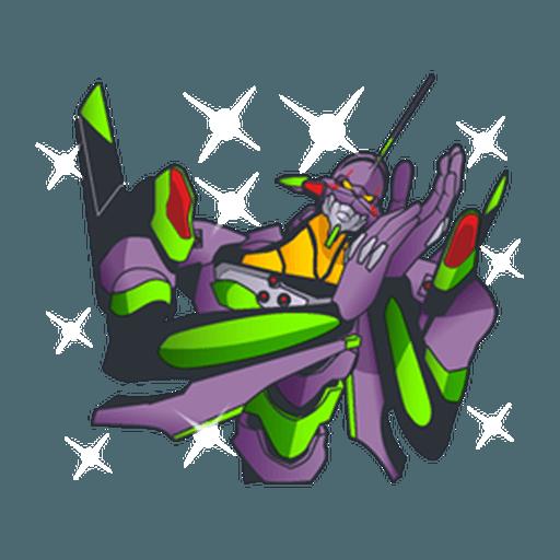 Evangelion Vol4 - Sticker 22