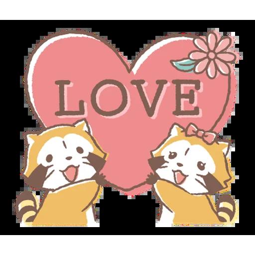 Rascal Love - Sticker 7