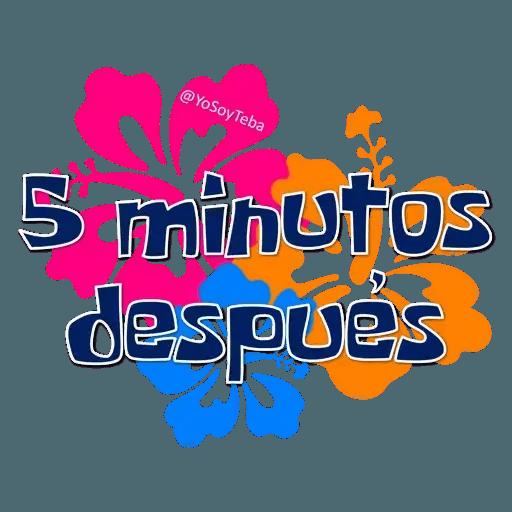 Frases Bob Esponja Español - Sticker 16