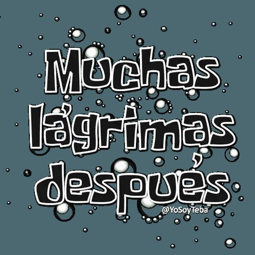 Frases Bob Esponja Español - Sticker 18