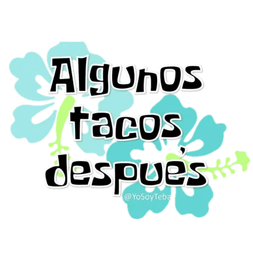 Frases Bob Esponja Español - Sticker 28