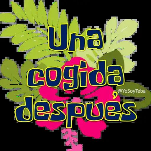 Frases Bob Esponja Español - Sticker 15