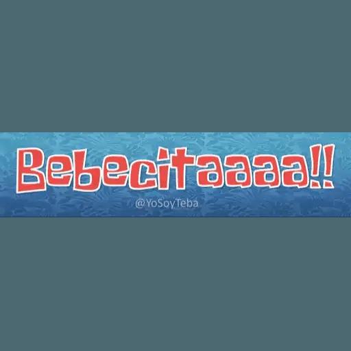 Frases Bob Esponja Español - Sticker 3