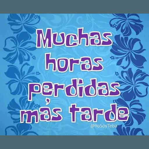 Frases Bob Esponja Español - Sticker 5