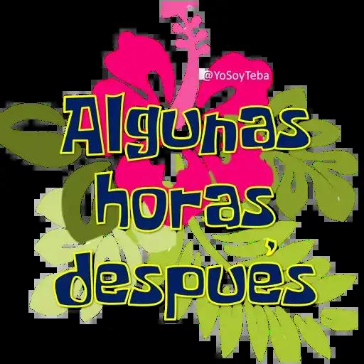 Frases Bob Esponja Español - Sticker 26
