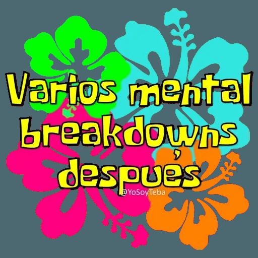 Frases Bob Esponja Español - Sticker 25