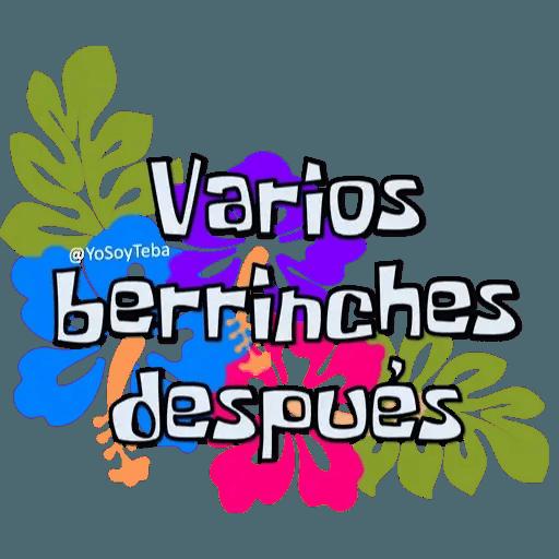Frases Bob Esponja Español - Sticker 27