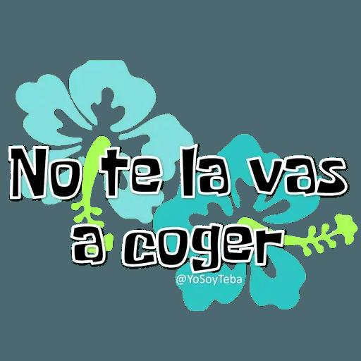 Frases Bob Esponja Español - Sticker 21