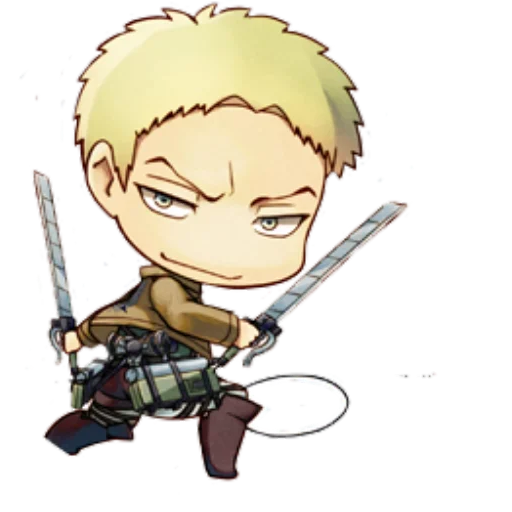 AOT Chibi 3 - Sticker 7