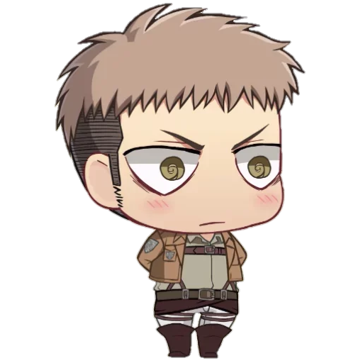 AOT Chibi 3 - Sticker 2