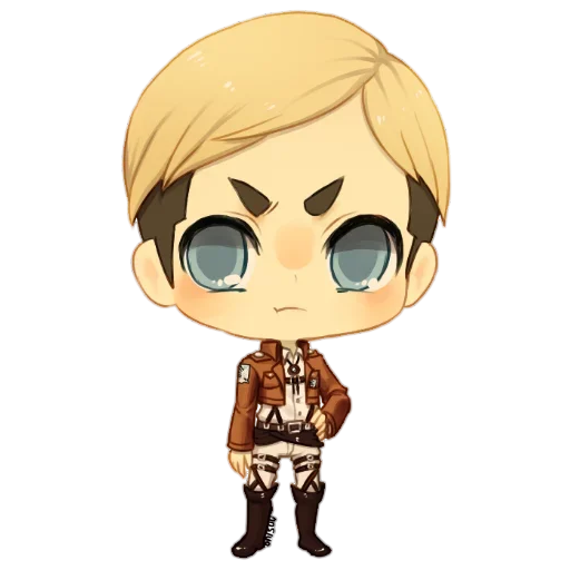 AOT Chibi 3 - Sticker 11