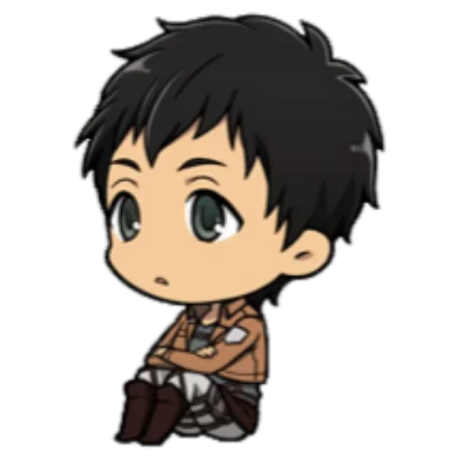 AOT Chibi 3 - Sticker 9