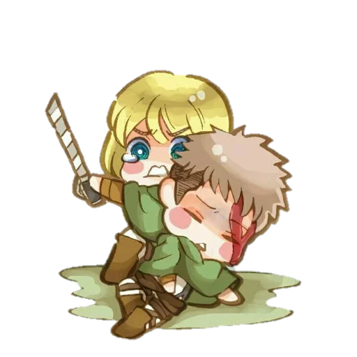 AOT Chibi 3 - Sticker 21