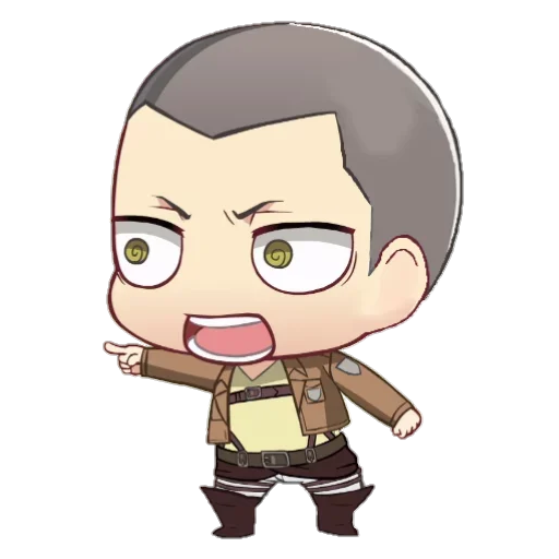 AOT Chibi 3 - Sticker 14