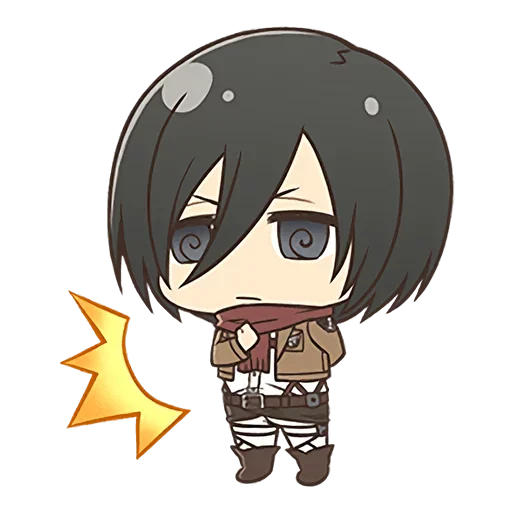 AOT Chibi 3 - Sticker 28