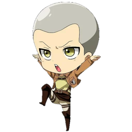 AOT Chibi 3 - Sticker 8