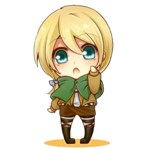AOT Chibi 3 - Sticker 13