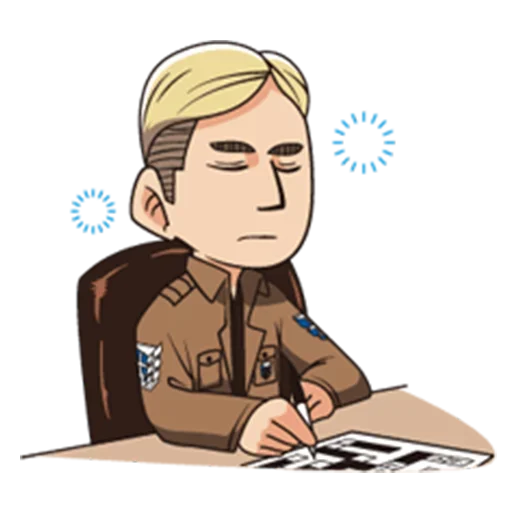 AOT Chibi 3 - Sticker 25