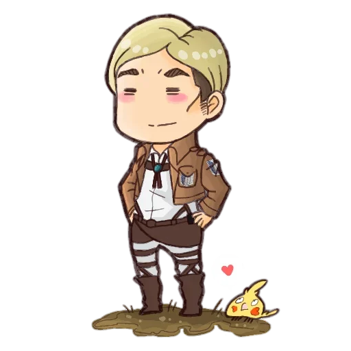 AOT Chibi 3 - Sticker 12