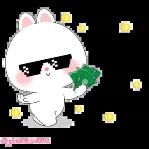 Cute rabbit - Sticker 26