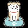 Shibapuppy2 - Tray Sticker