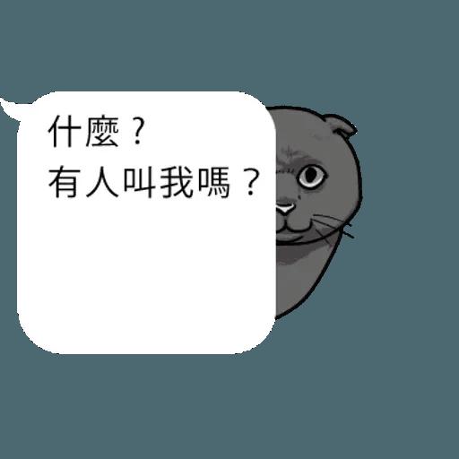 cat words - Sticker 24
