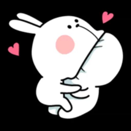 Spoiled rabbit 1 - Sticker 17