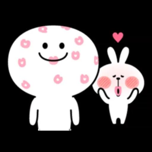 Spoiled rabbit 1 - Sticker 13