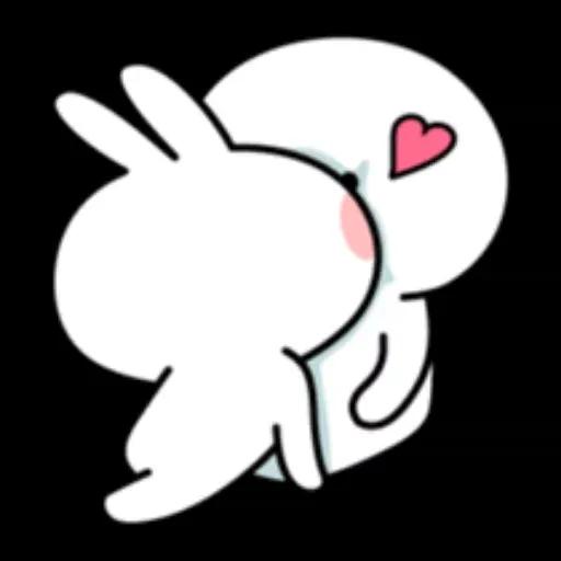 Spoiled rabbit 1 - Sticker 16