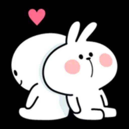 Spoiled rabbit 1 - Sticker 15