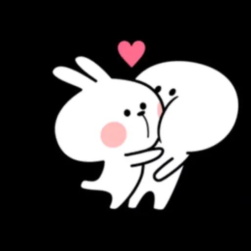 Spoiled rabbit 1 - Sticker 18