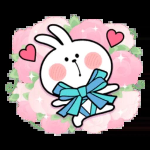 Spoiled rabbit 1 - Sticker 2