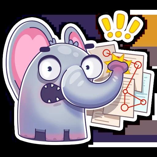 Elefante - Sticker 13