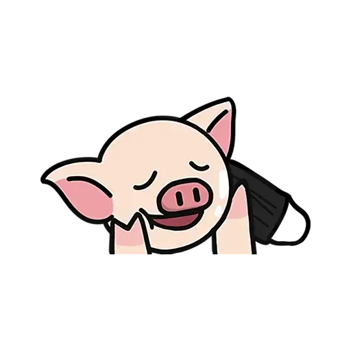 Lihkg pig - Sticker 21