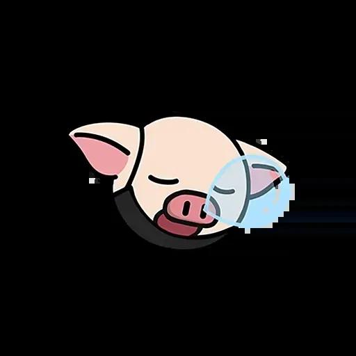 Lihkg pig - Sticker 29