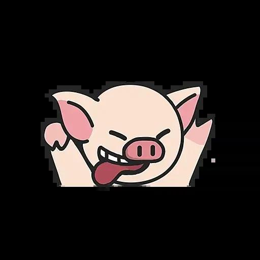 Lihkg pig - Sticker 5