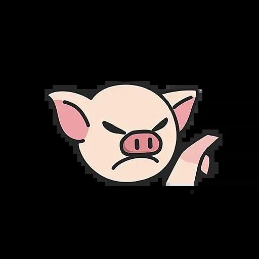 Lihkg pig - Sticker 8