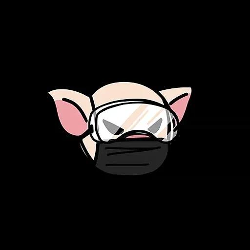 Lihkg pig - Sticker 19