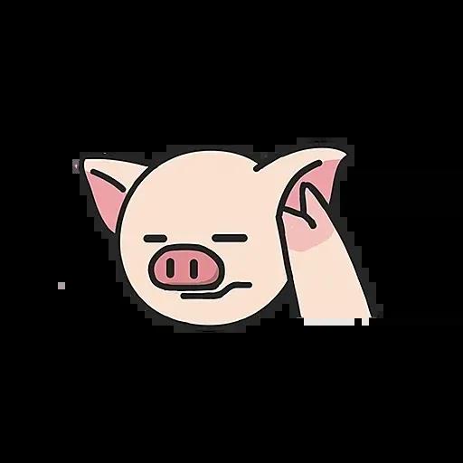 Lihkg pig - Sticker 9