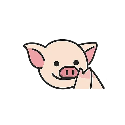 Lihkg pig - Sticker 2