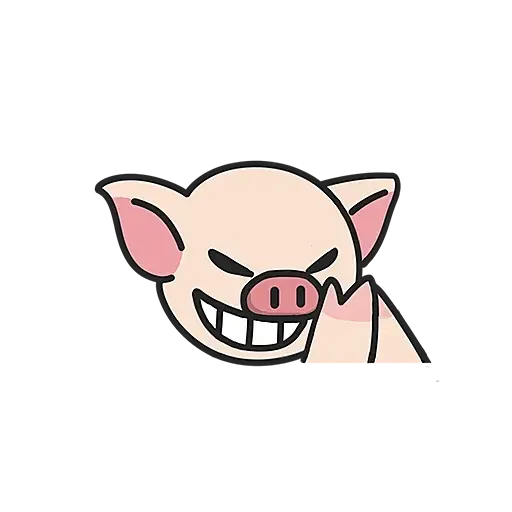 Lihkg pig - Sticker 11