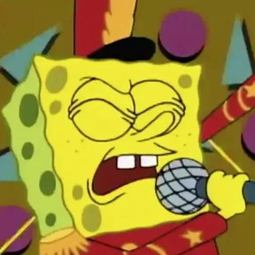 Sponge Bob - Sticker 1