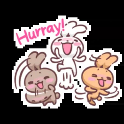 Rabbit Kiun - Sticker 21