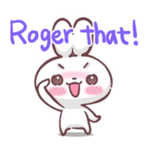Rabbit Kiun - Sticker 13